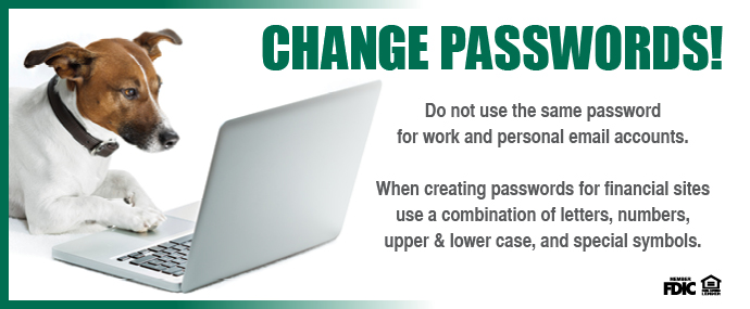 Change Passwords!